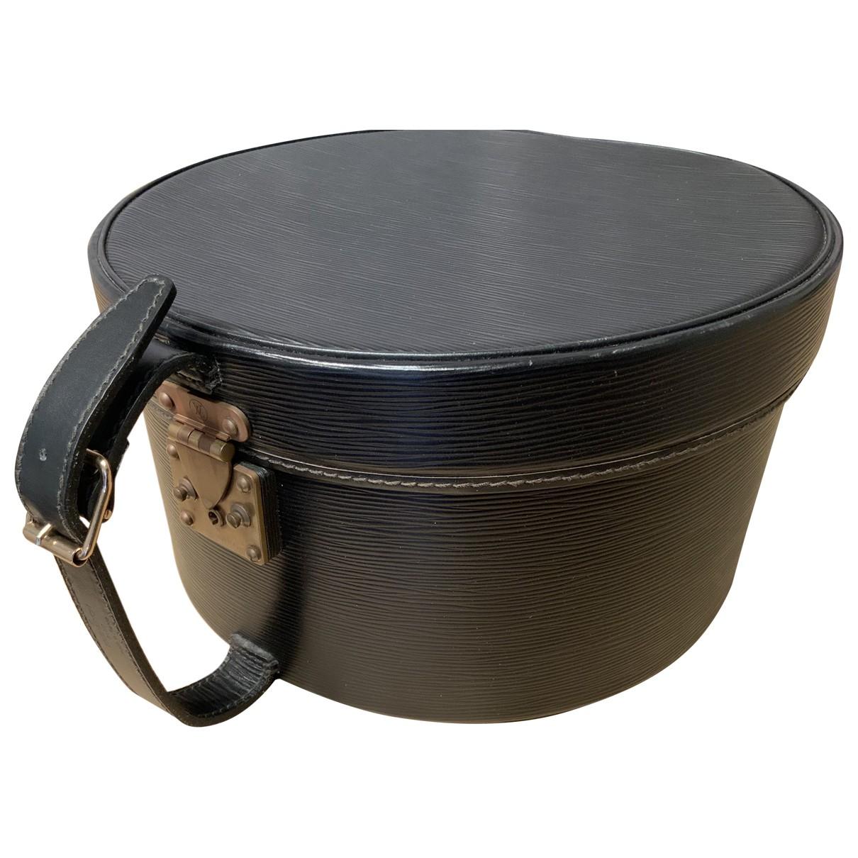 Objeto de decoracion Boite a Chapeaux de Cuero Louis Vuitton