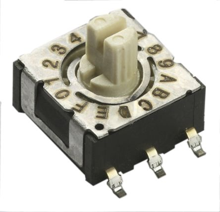 CTS 16 Way Through Hole DIP Switch, Rotary Actuator (66)