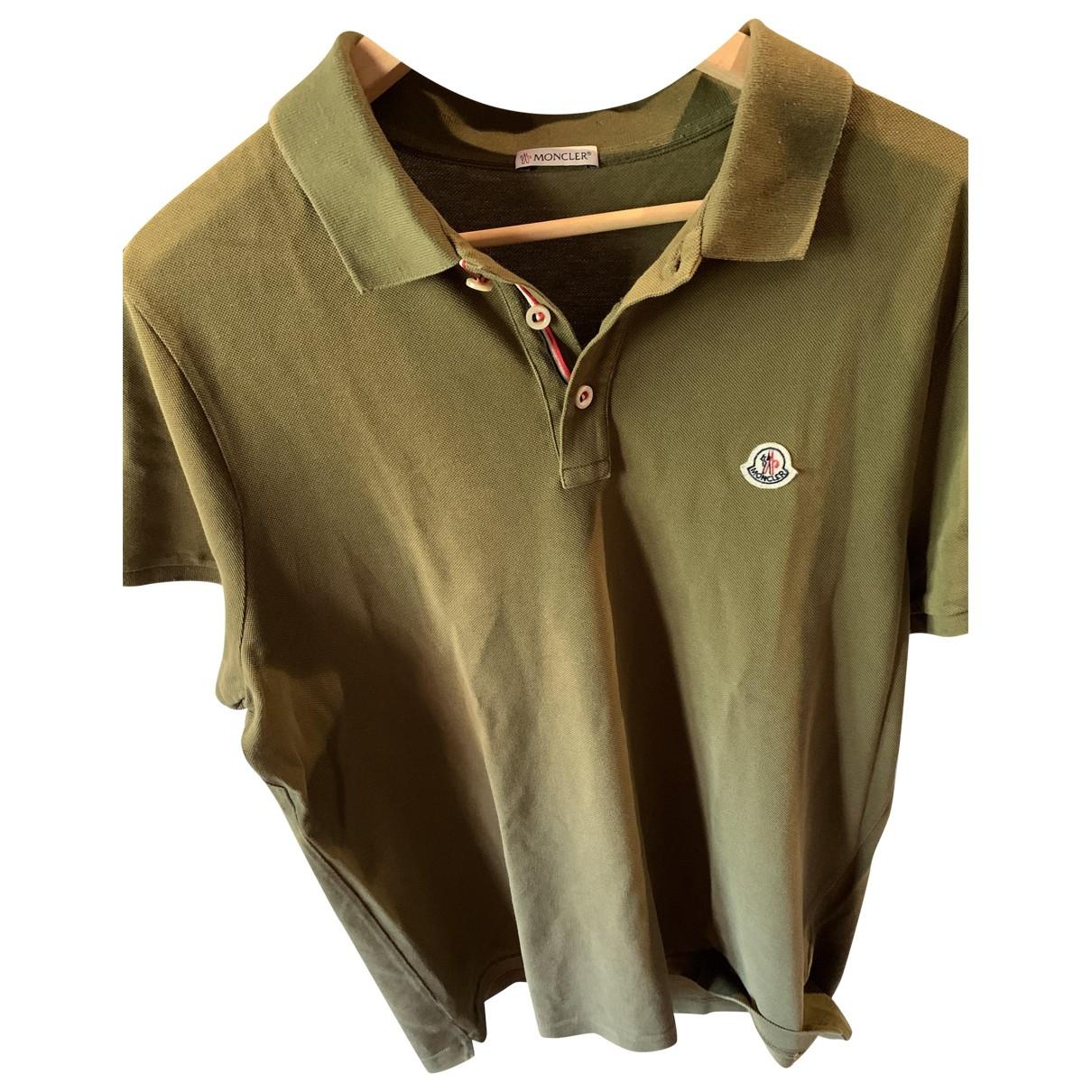 Moncler \N Green Polo shirts for Men XL International