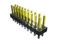 Samtec , TSW, 12 Way, 3 Row, Straight Pin Header (10)