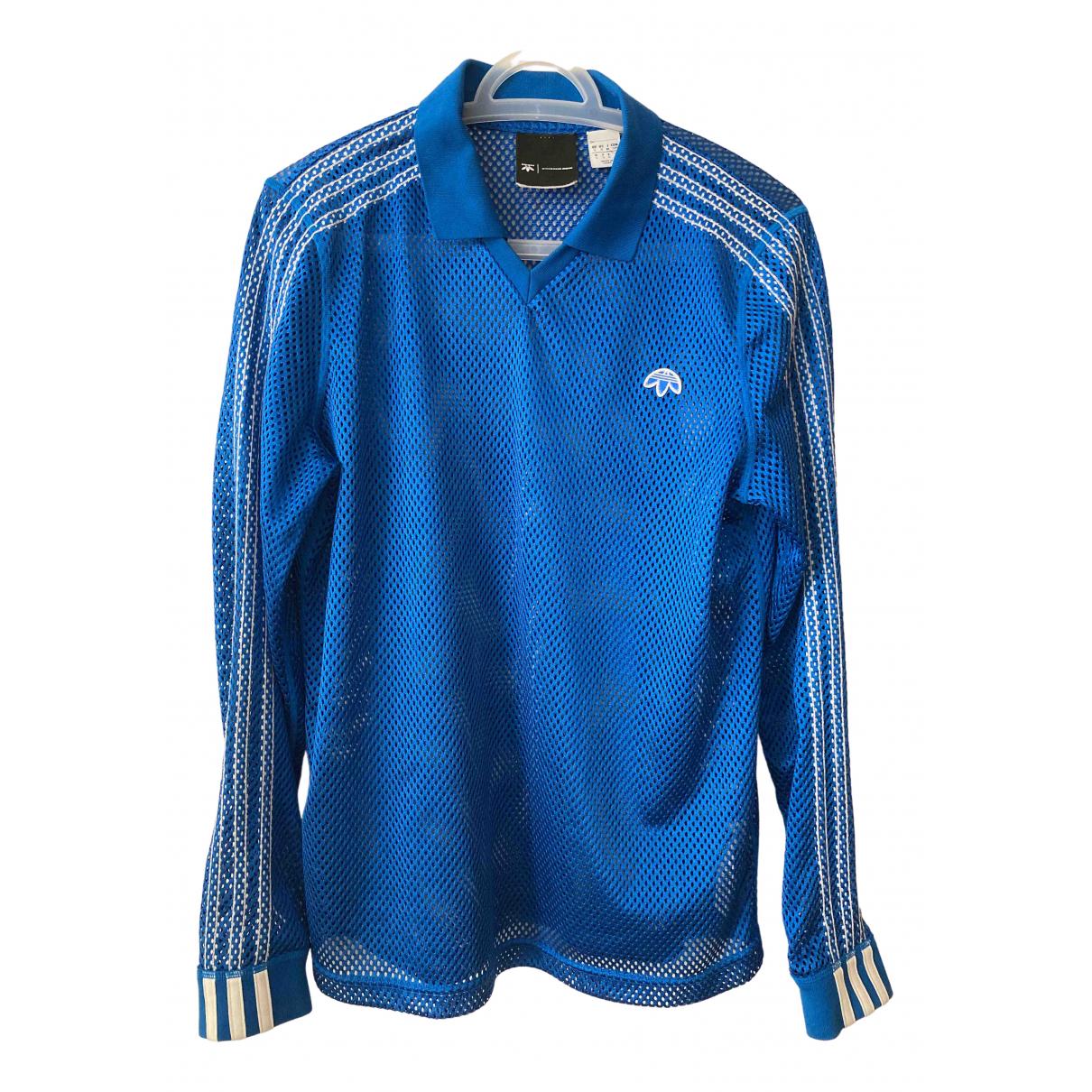 Polo en Poliester Azul Adidas Originals X Alexander Wang