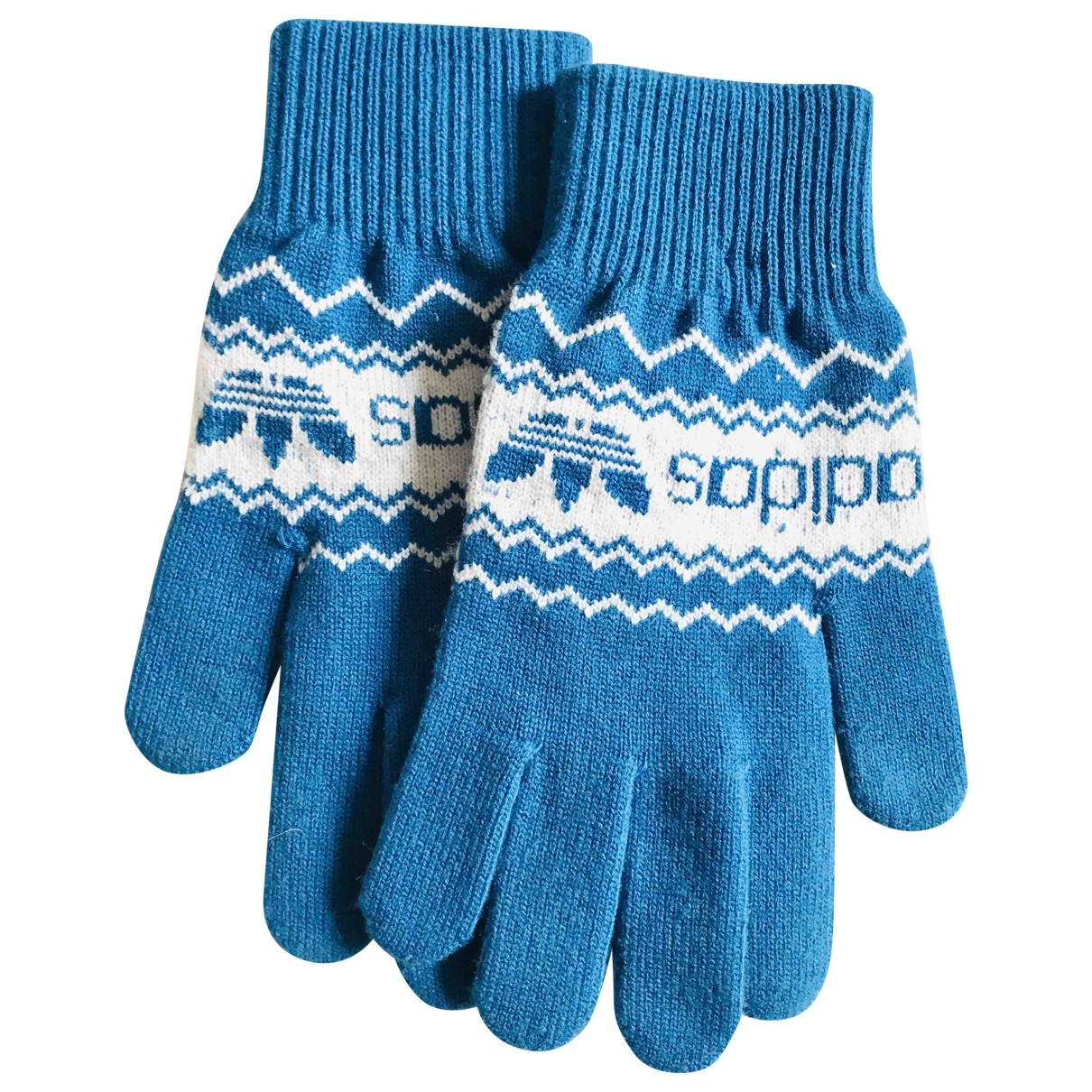 Adidas \N Handschuhe in  Tuerkis Synthetik