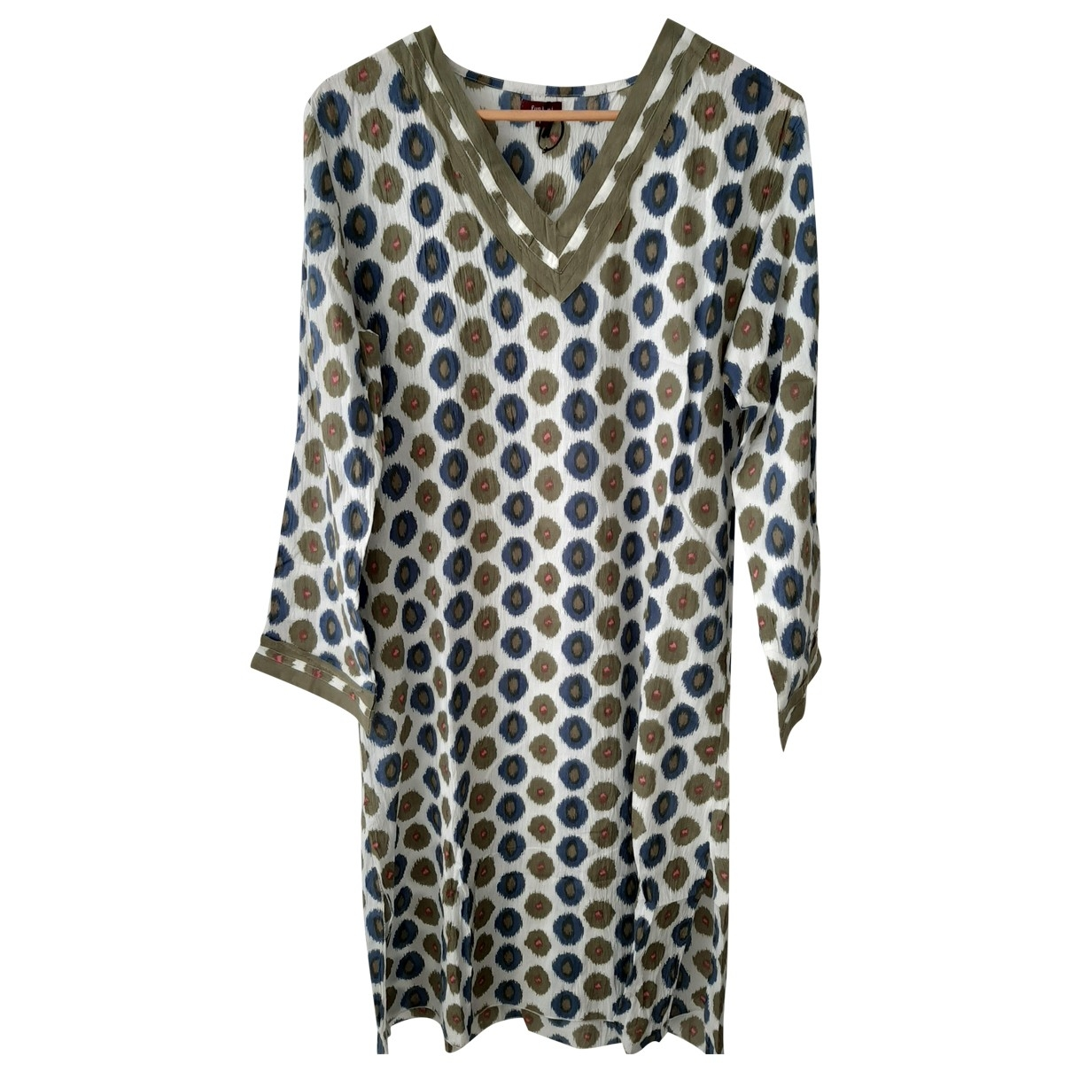 Non Signé / Unsigned \N Green Cotton dress for Women M International