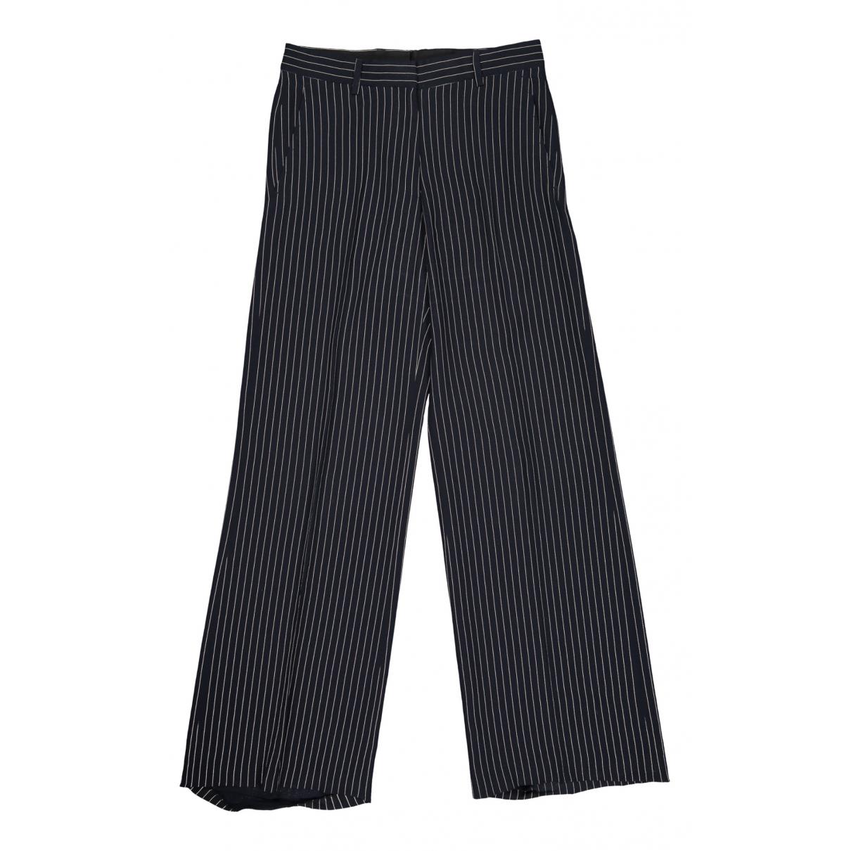 Dries Van Noten N Black Trousers for Women 36 FR