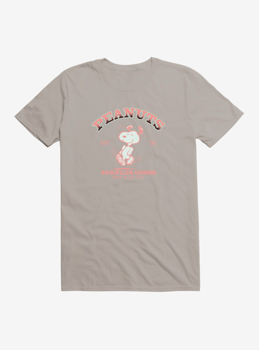 Peanuts Snoopy Surplus Goods T-Shirt