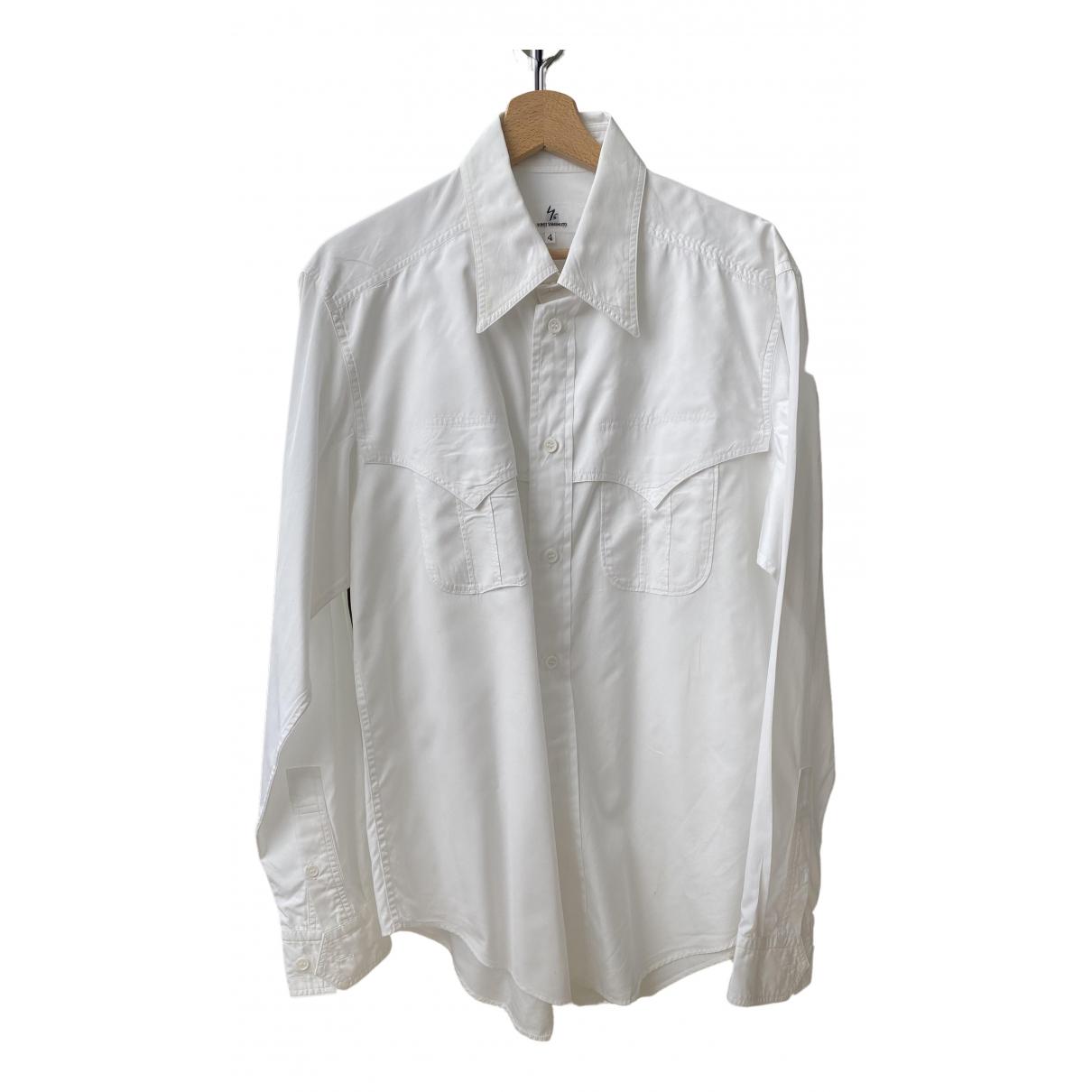 Yohji Yamamoto - Chemises   pour homme en autre - blanc