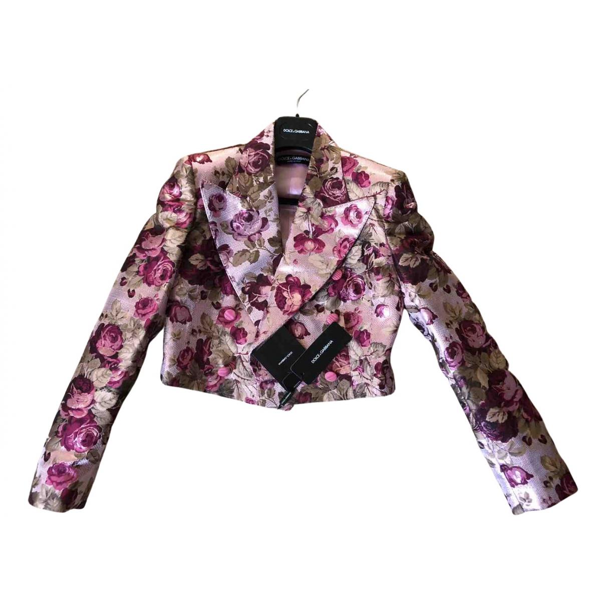 Dolce & Gabbana - Veste   pour femme - multicolore