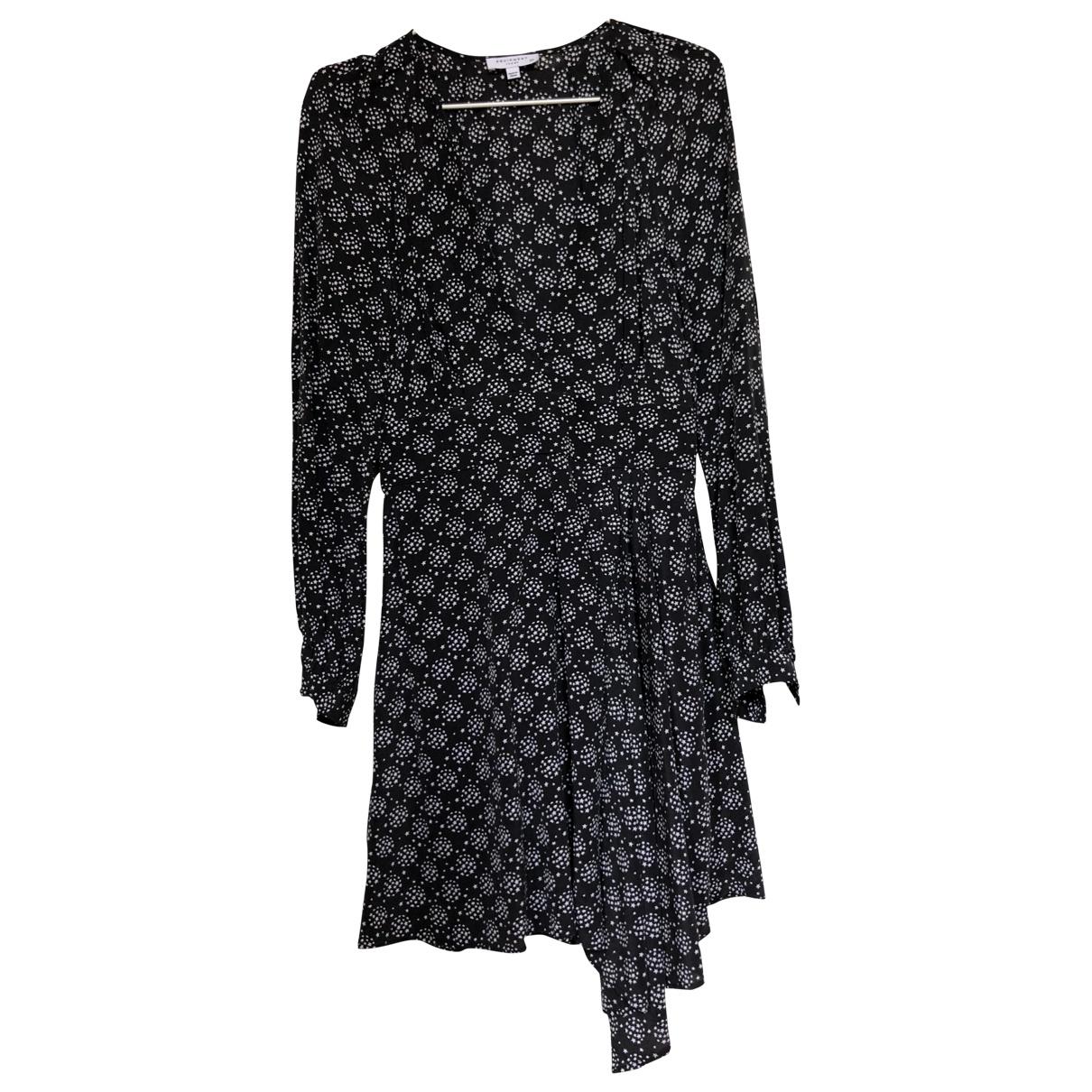 Equipment \N Black Silk dress for Women S International