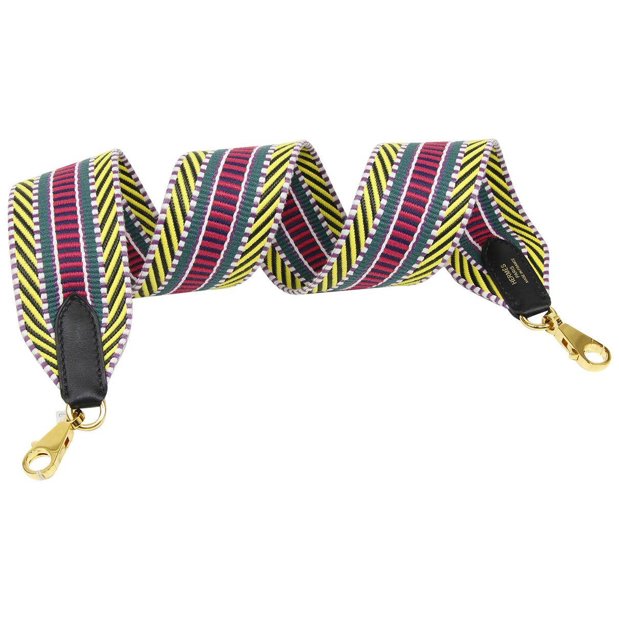 Hermes - Petite maroquinerie   pour femme en coton - multicolore