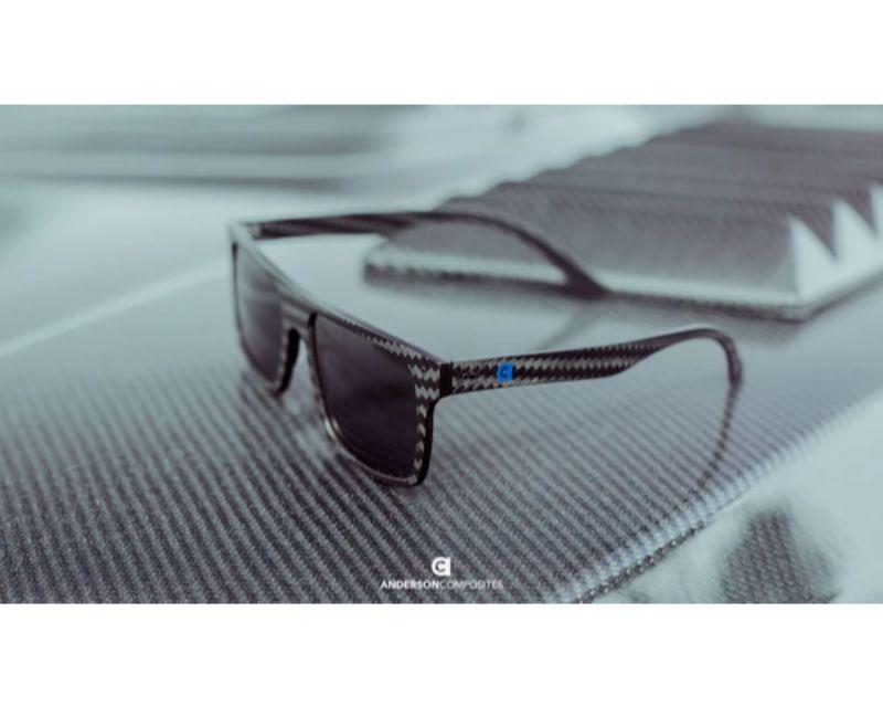 Anderson Composites AC-SUNGLASSES Sunglasses Carbon Fiber Frame w/Polarized Lenses