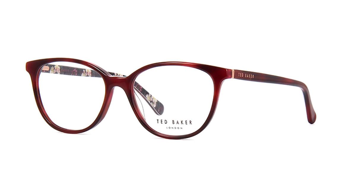Ted Baker TB9177 Polina 223 Women's Glasses Burgundy Size 53 - Free Lenses - HSA/FSA Insurance - Blue Light Block Available