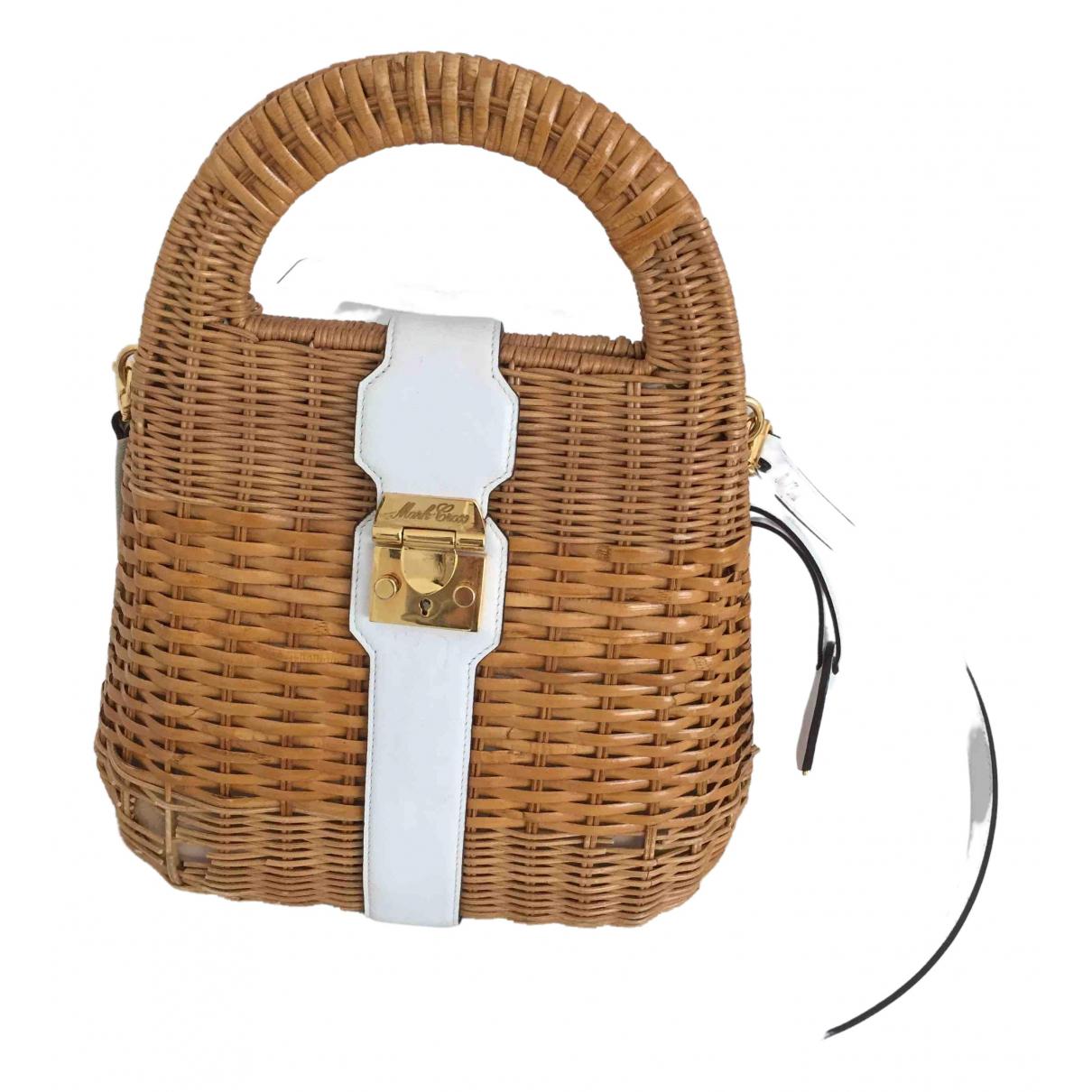 Mark Cross \N White Wicker handbag for Women \N