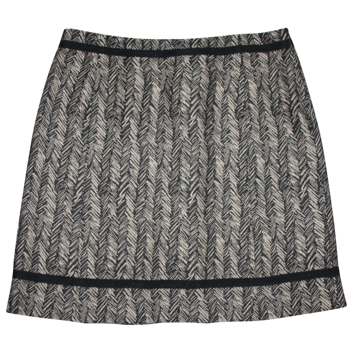 Max Mara Weekend \N Grey Cotton skirt for Women 42 IT