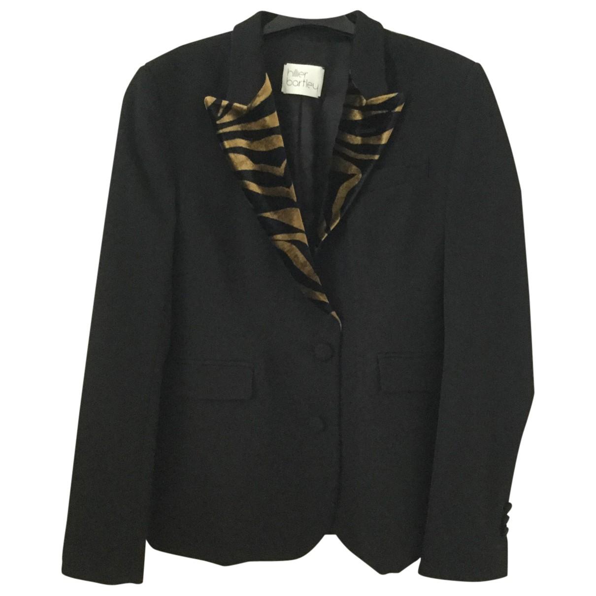 Hillier Bartley - Veste   pour femme en laine - noir