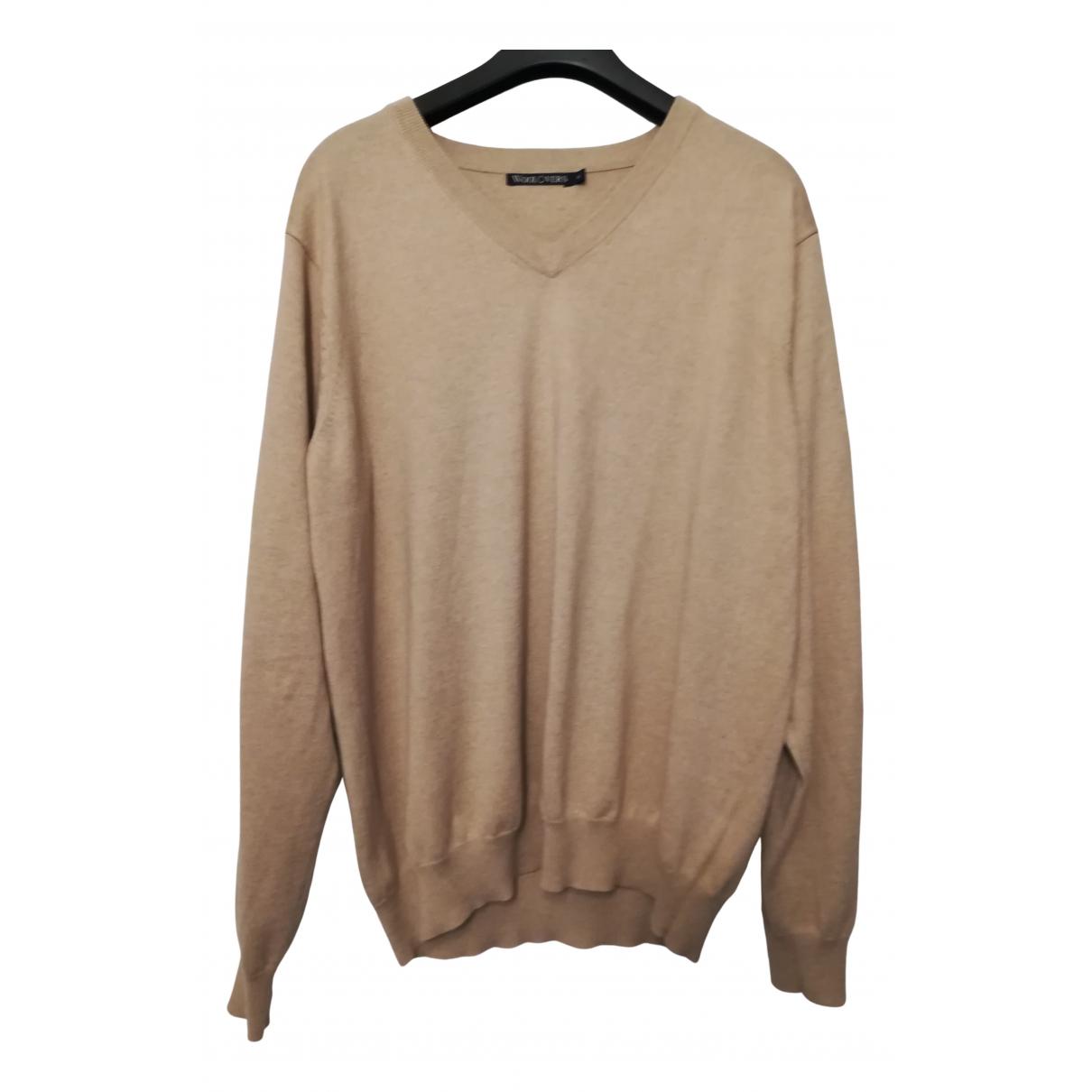 Non Signé / Unsigned N Beige Cotton Knitwear & Sweatshirts for Men XL International