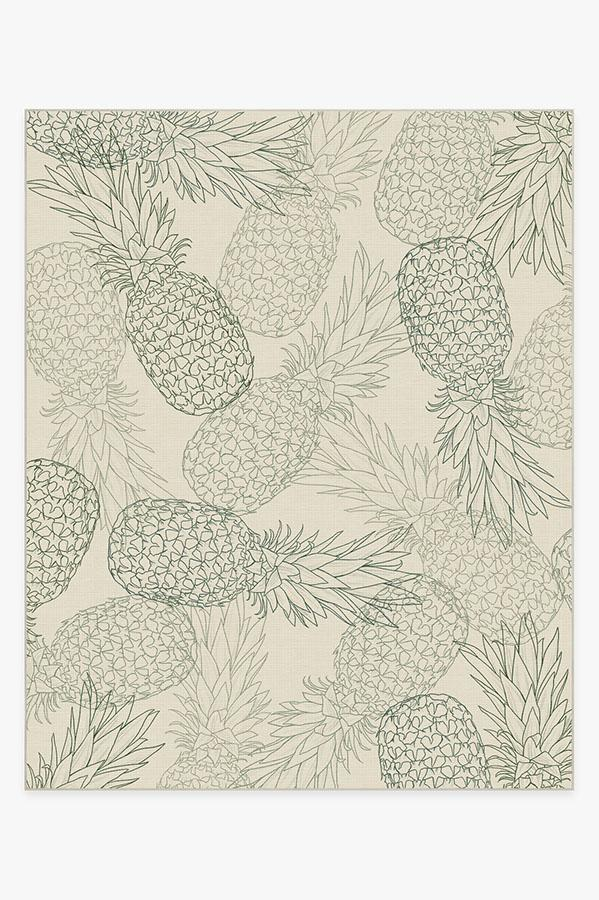 Washable Rug Cover & Pad | Pina Jade Rug | Stain-Resistant | Ruggable | 8'x10'