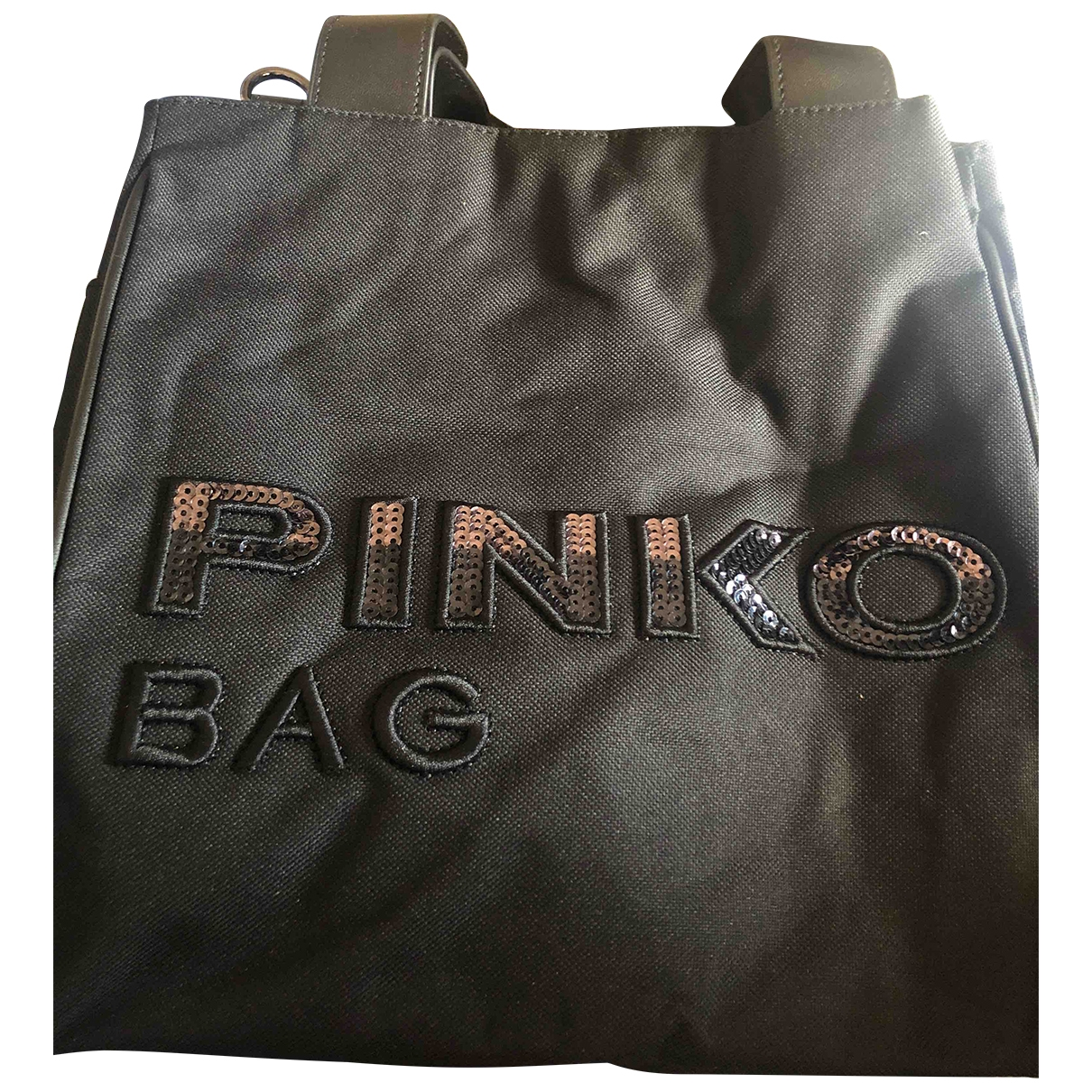 Pinko \N Black handbag for Women \N
