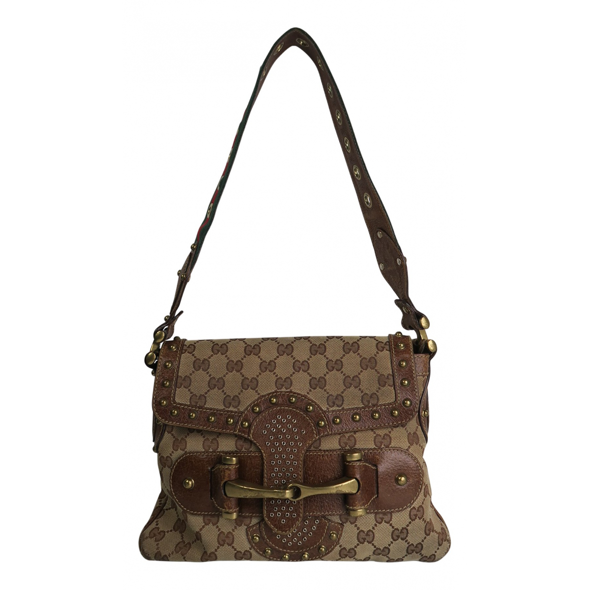 Gucci Pelham Beige Cloth handbag for Women N