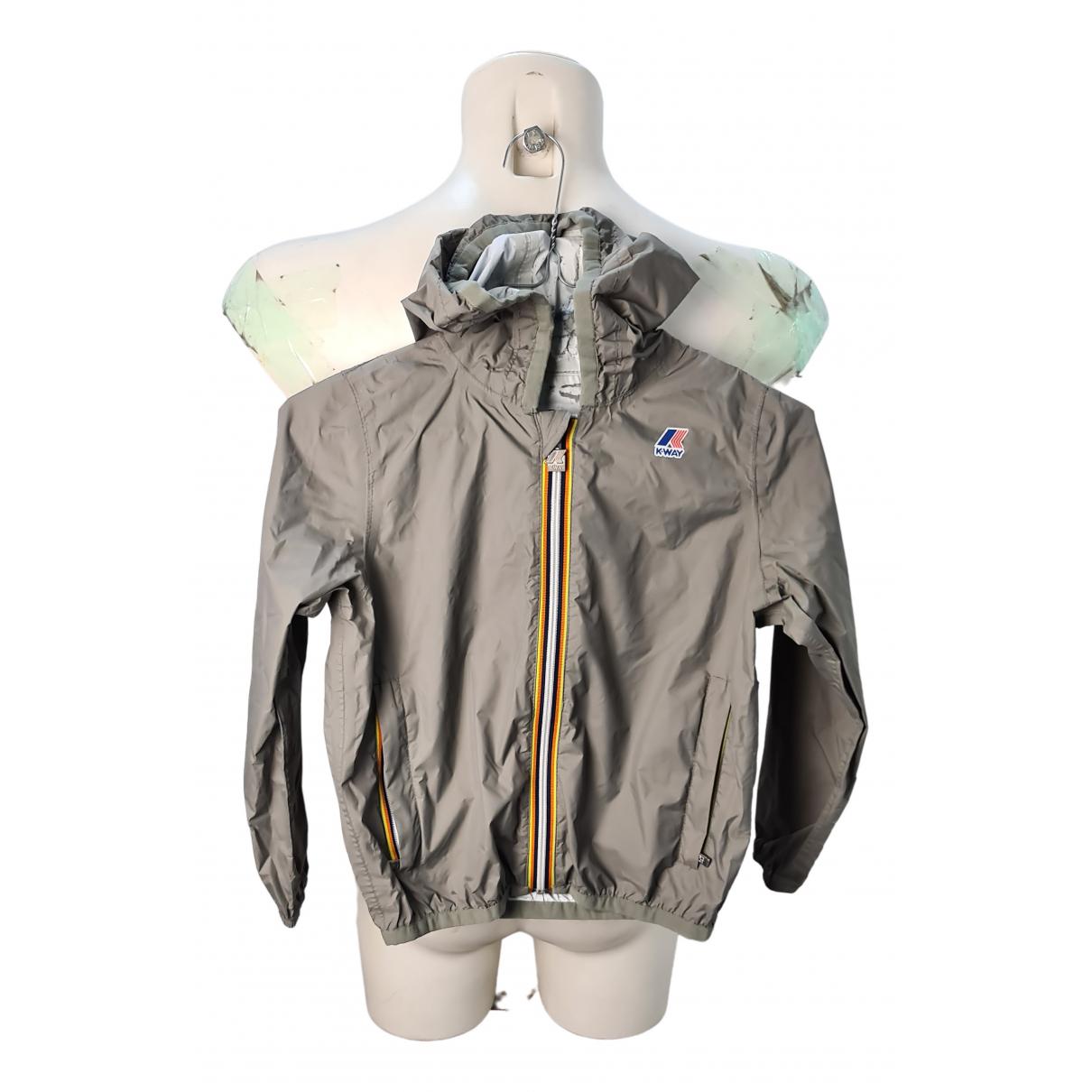 K-way - Blousons.Manteaux   pour enfant - gris