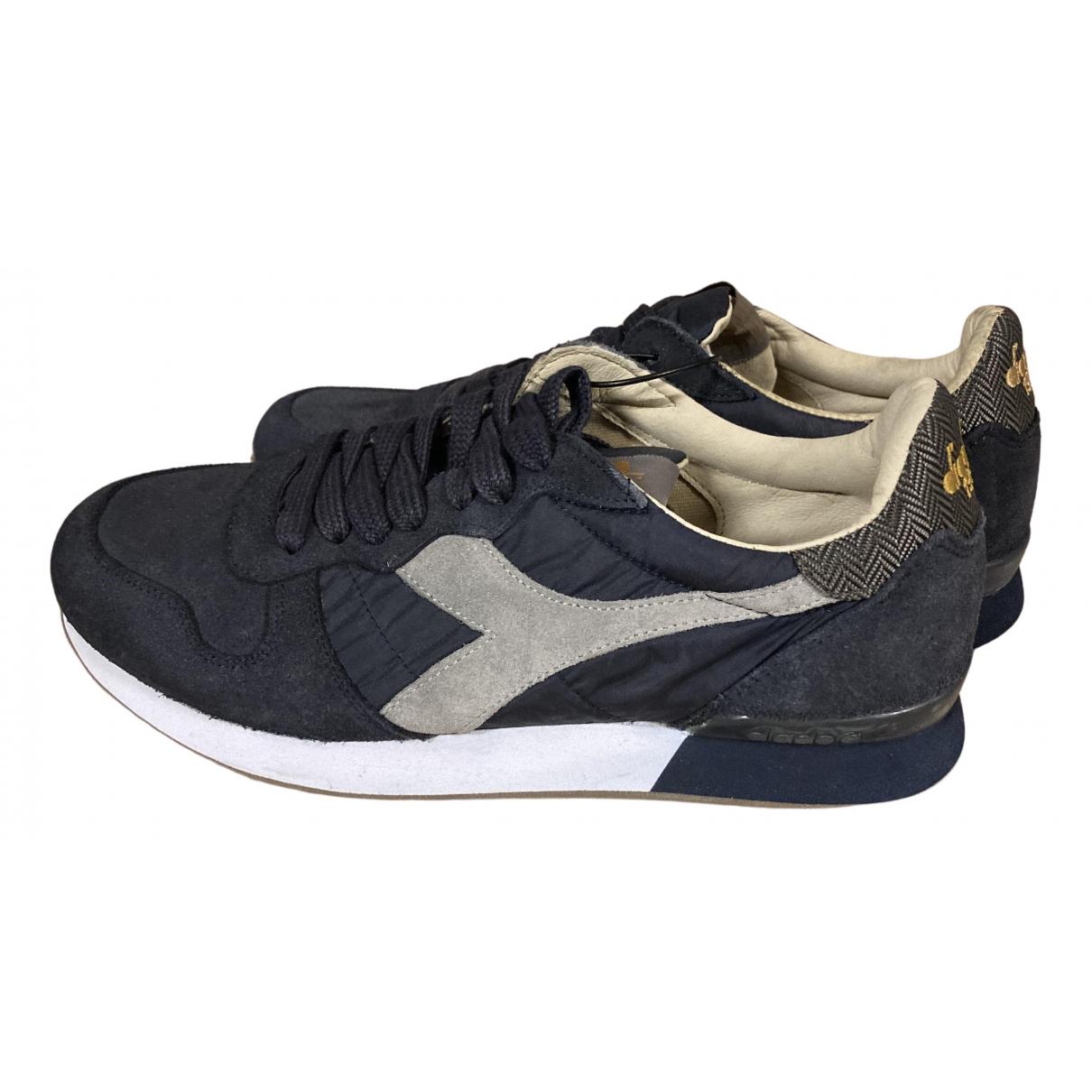 Diadora Heritage \N Sneakers in  Blau Leinen