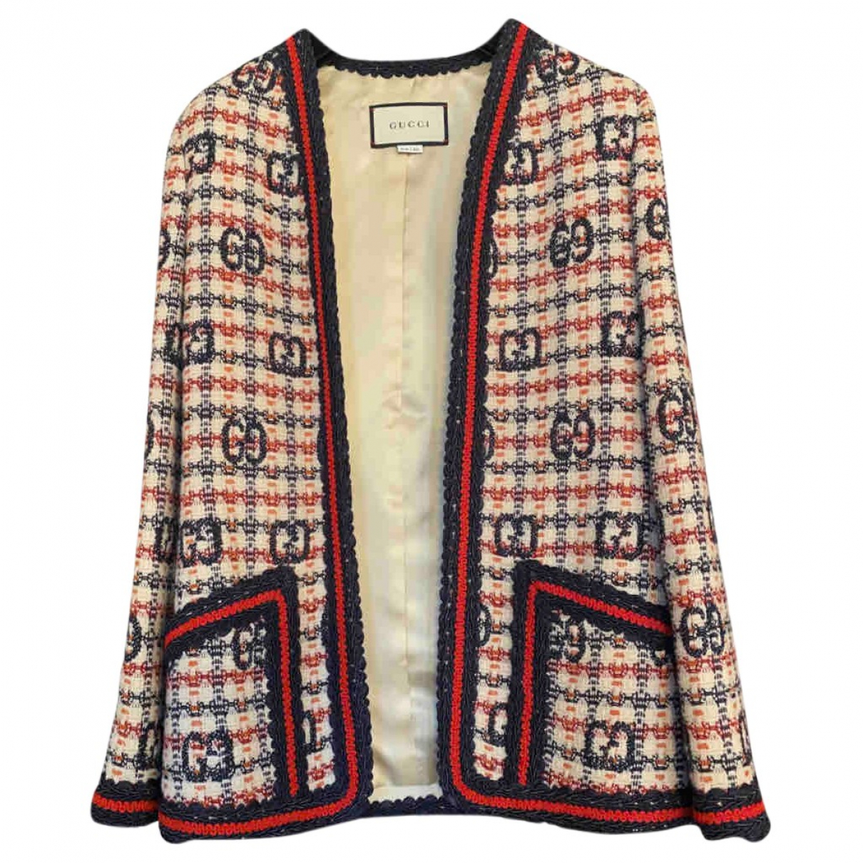 Gucci N Multicolour Wool jacket for Women 36 IT
