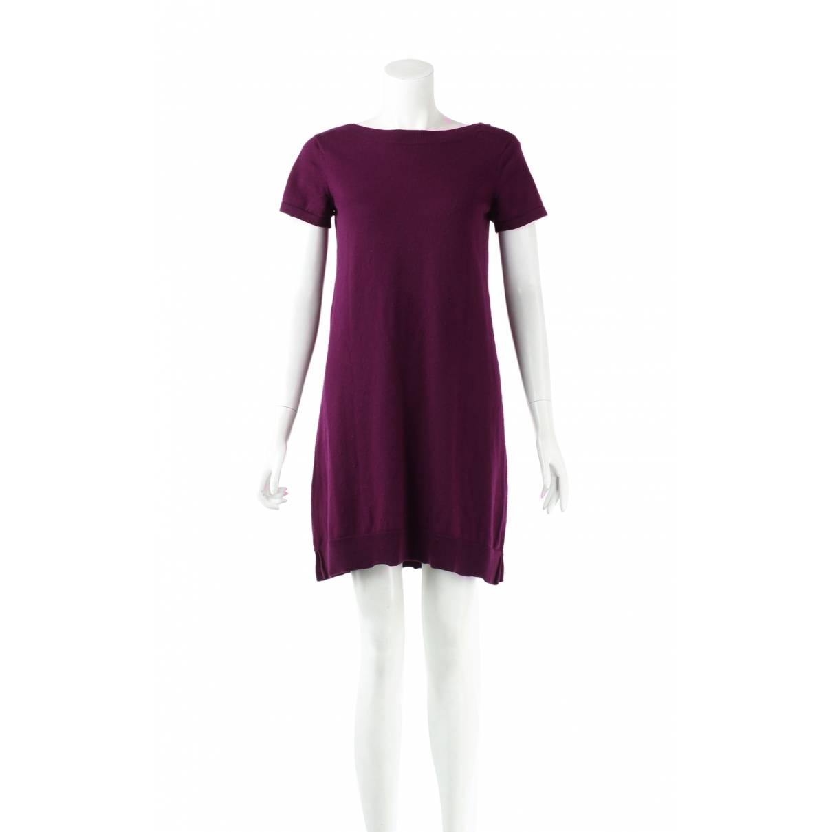 Autre Marque \N Kleid in  Lila Wolle