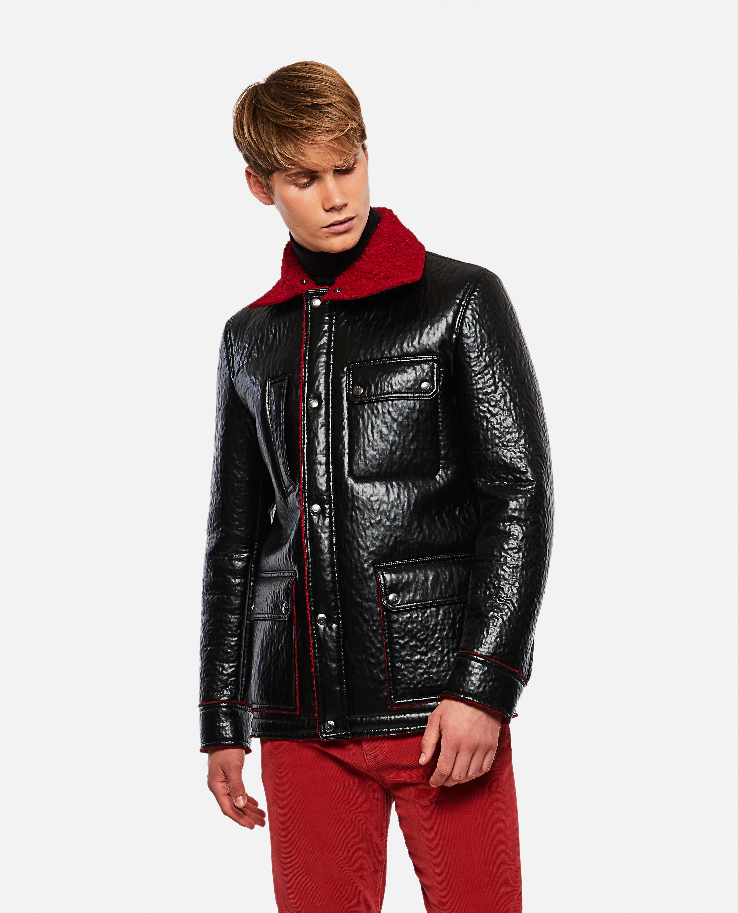 Eco Leather Coat