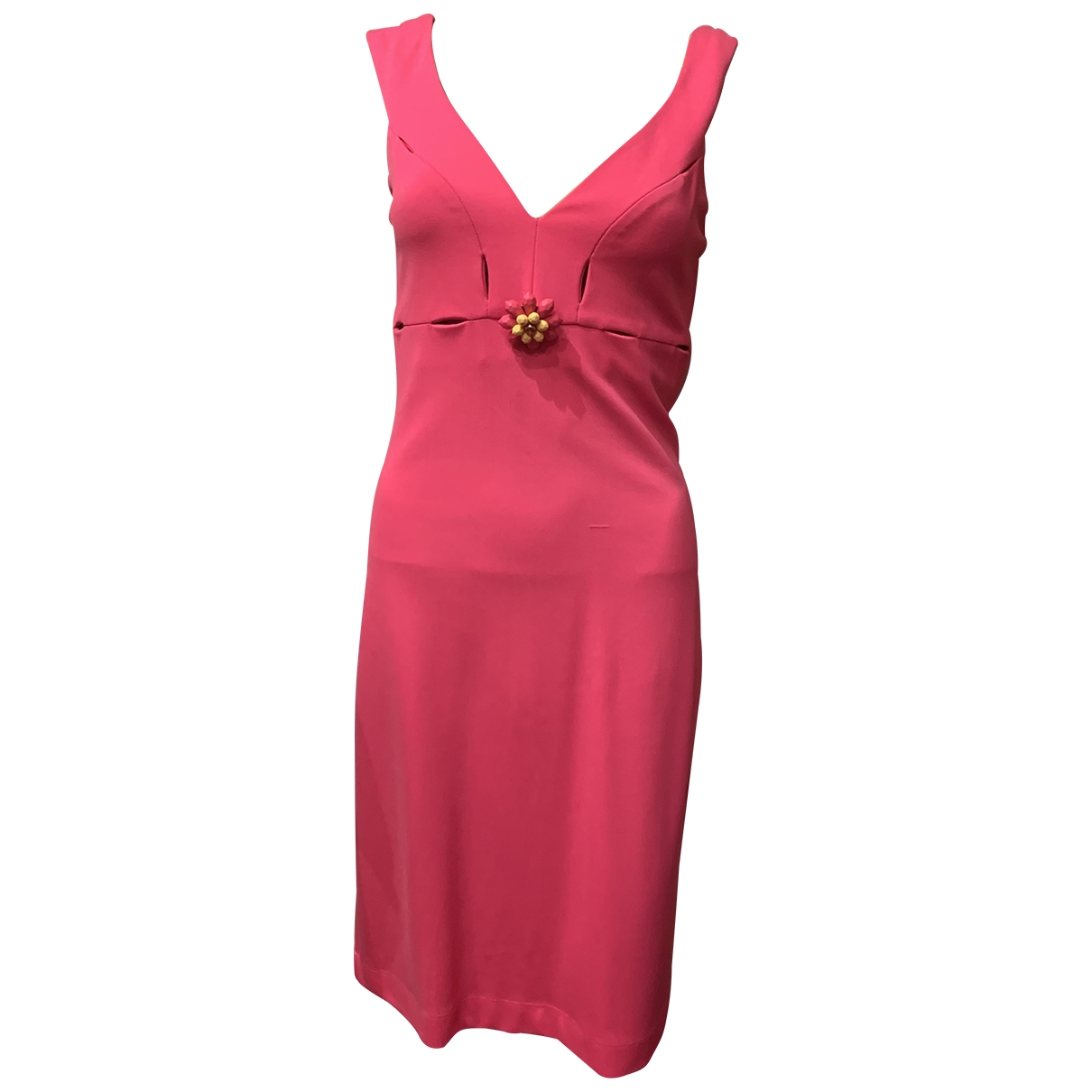 Moschino Cheap And Chic \N Kleid in  Rosa Synthetik
