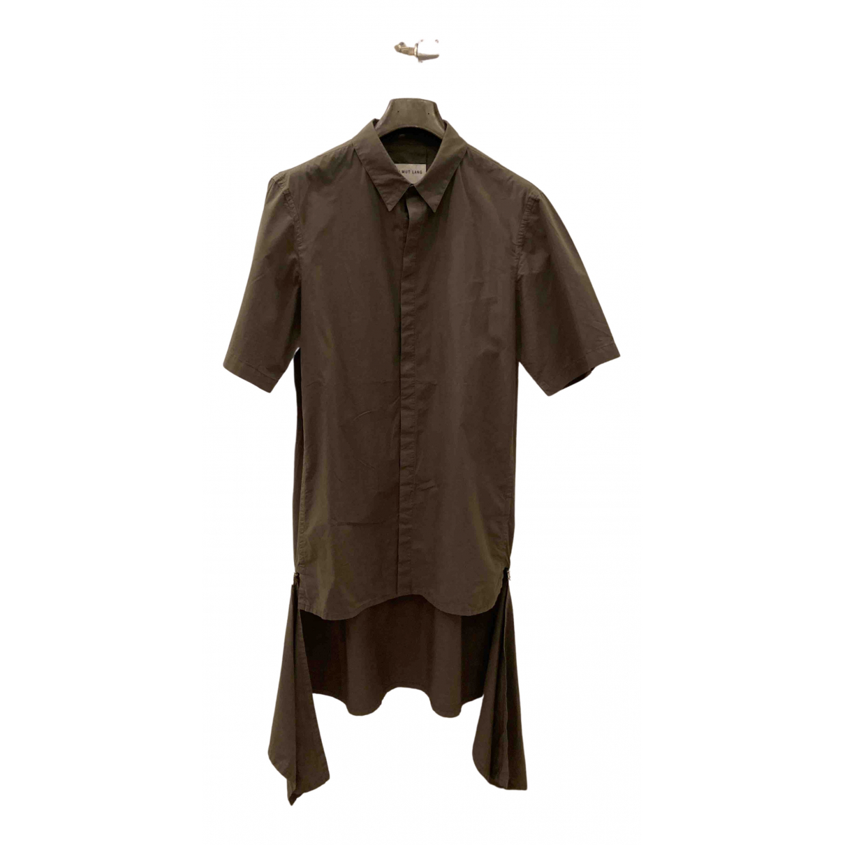 Helmut Lang - Chemises   pour homme en coton - vert
