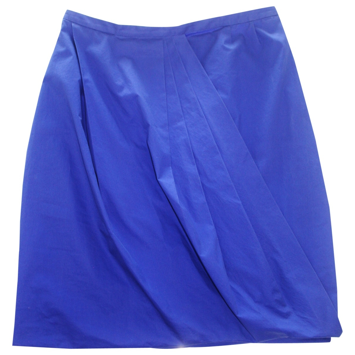 Acne Studios \N Blue Cotton skirt for Women 38 FR