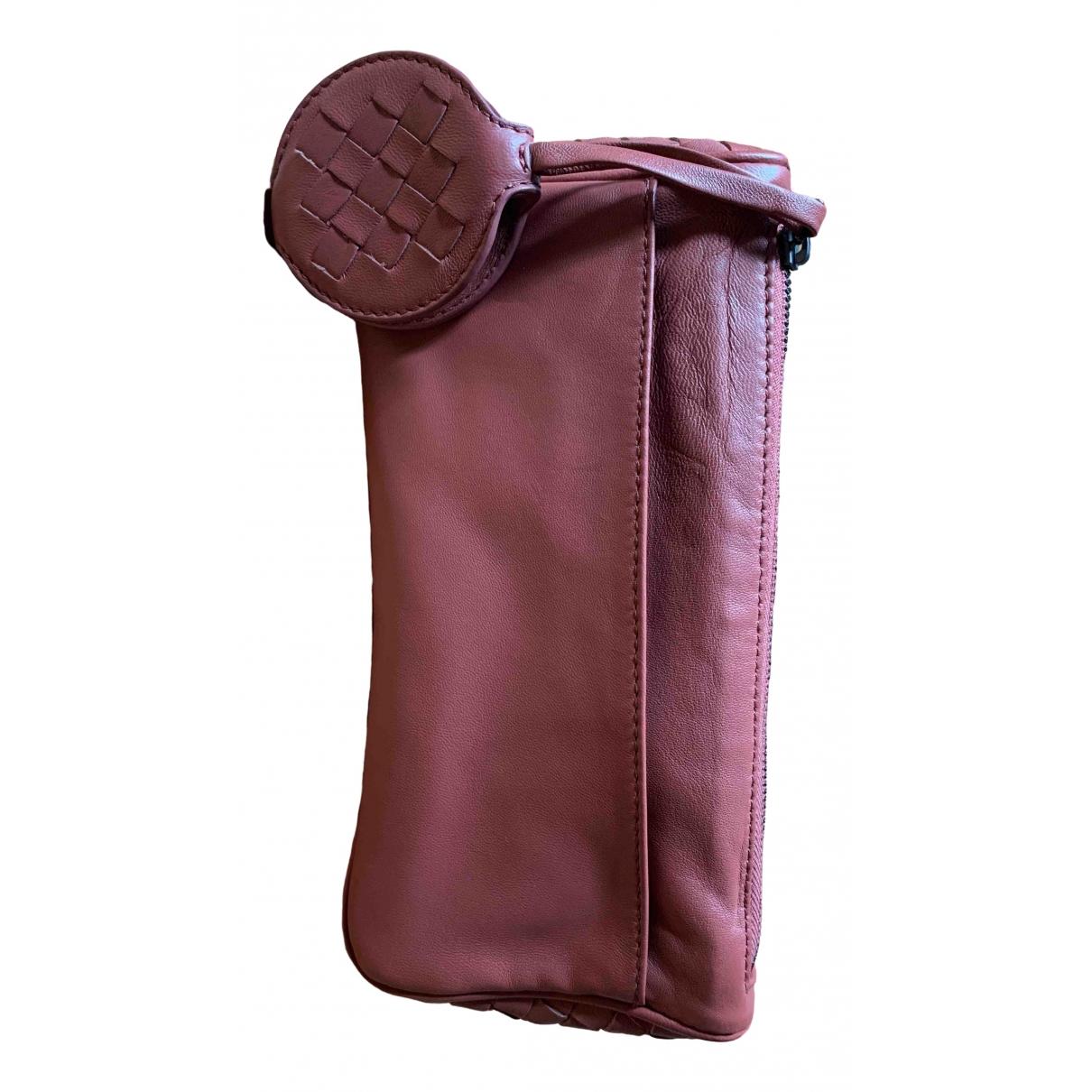 Bottega Veneta - Sac de voyage   pour femme en cuir - rose