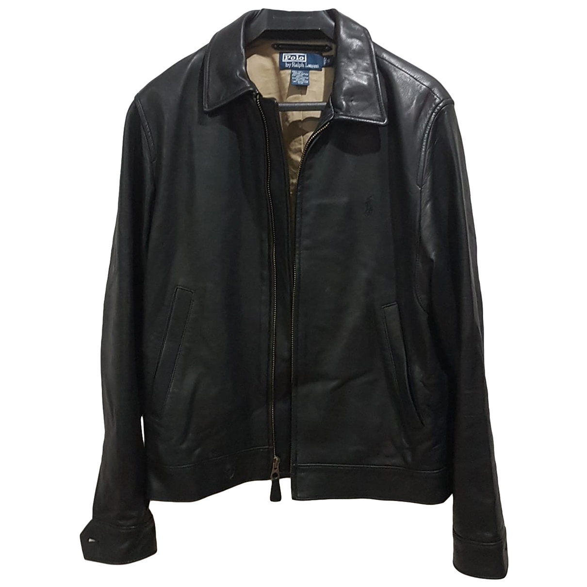 Ralph Lauren \N Black Leather jacket  for Men S International