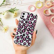 Leopard Clear iPhone Case