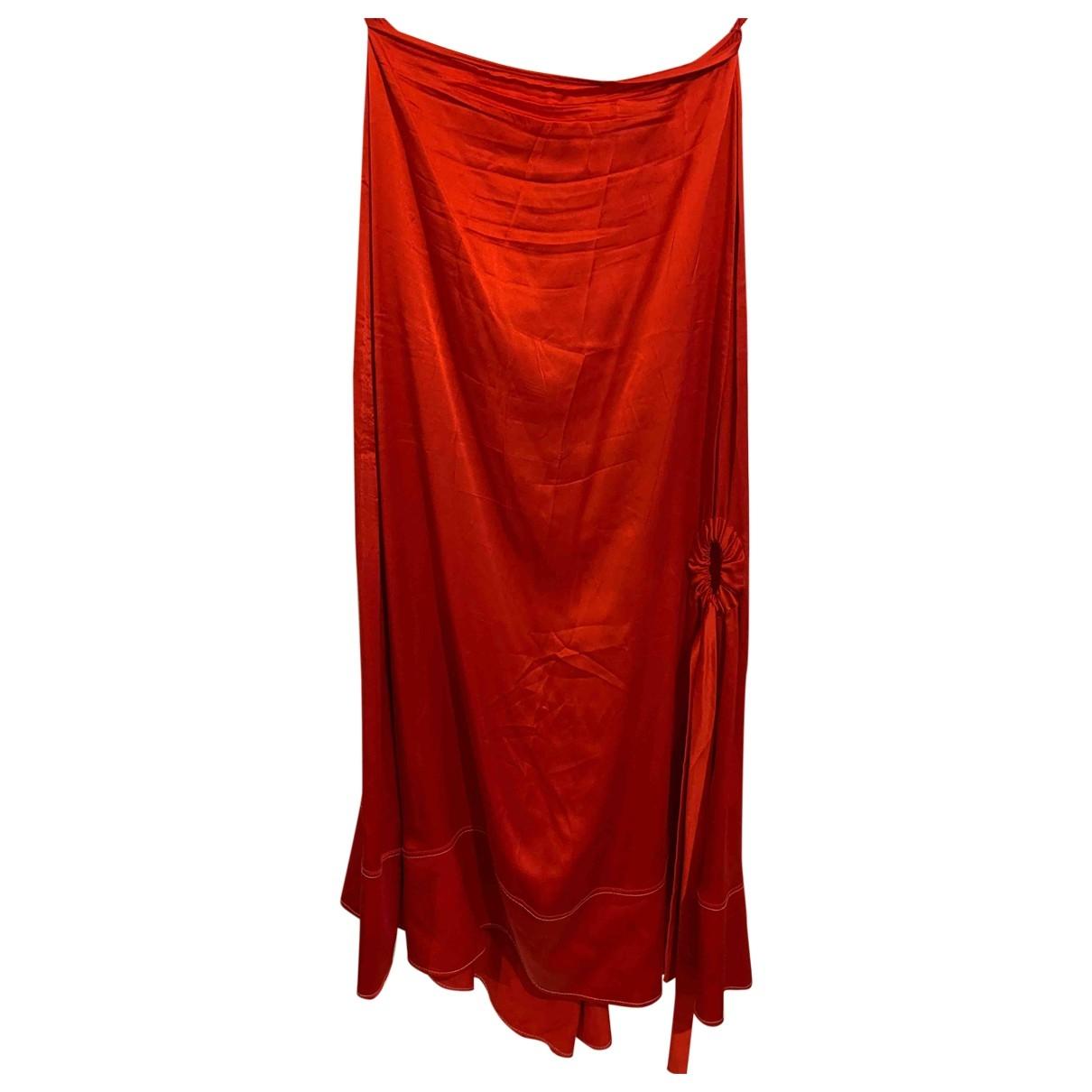 Ellery \N Red Silk skirt for Women 8 UK