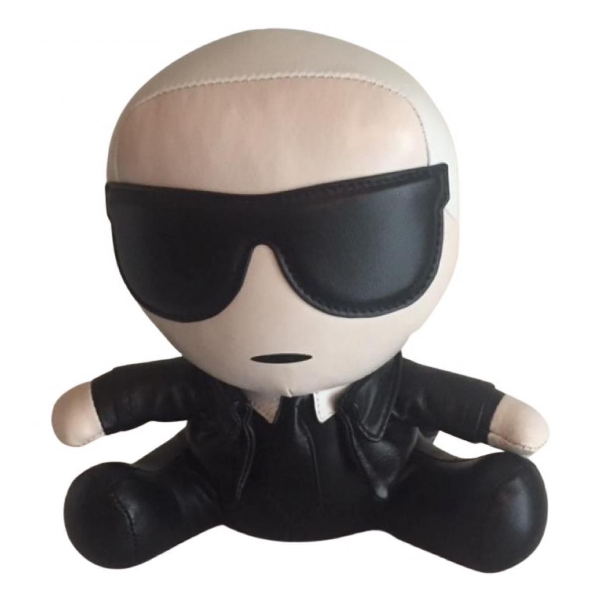 Karl Lagerfeld - Objets & Deco   pour lifestyle en cuir - noir