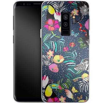 Samsung Galaxy S9 Plus Silikon Handyhuelle - Jungle Glow von Mukta Lata Barua