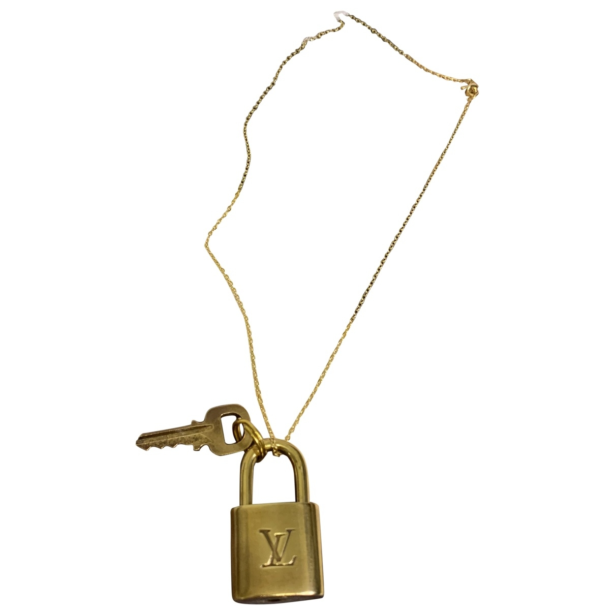 Louis Vuitton Lockit Taschenschmuck in  Gold Metall