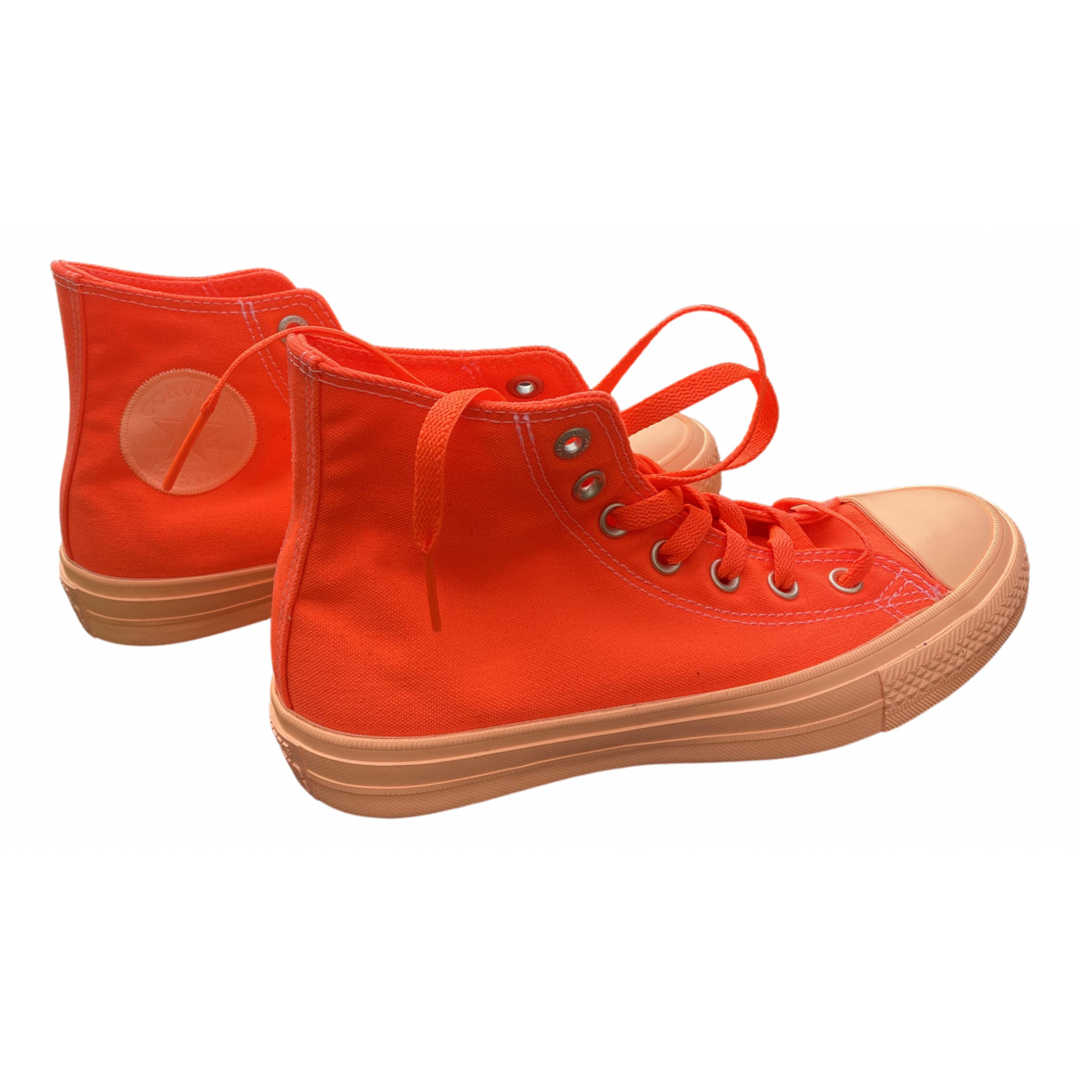 Converse \N Orange Cloth Trainers for Women 6 UK