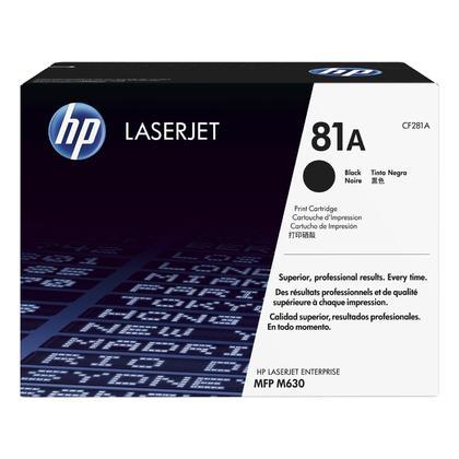 HP 81A CF281A cartouche d'encre originale noire