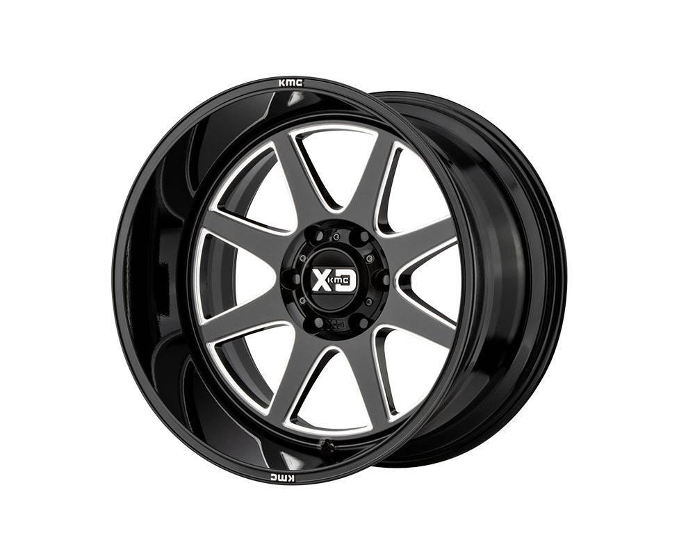XD Series XD84422285344N XD844 Pike Wheel 22x12 5x5x139.7 -44mm Gloss Black Milled