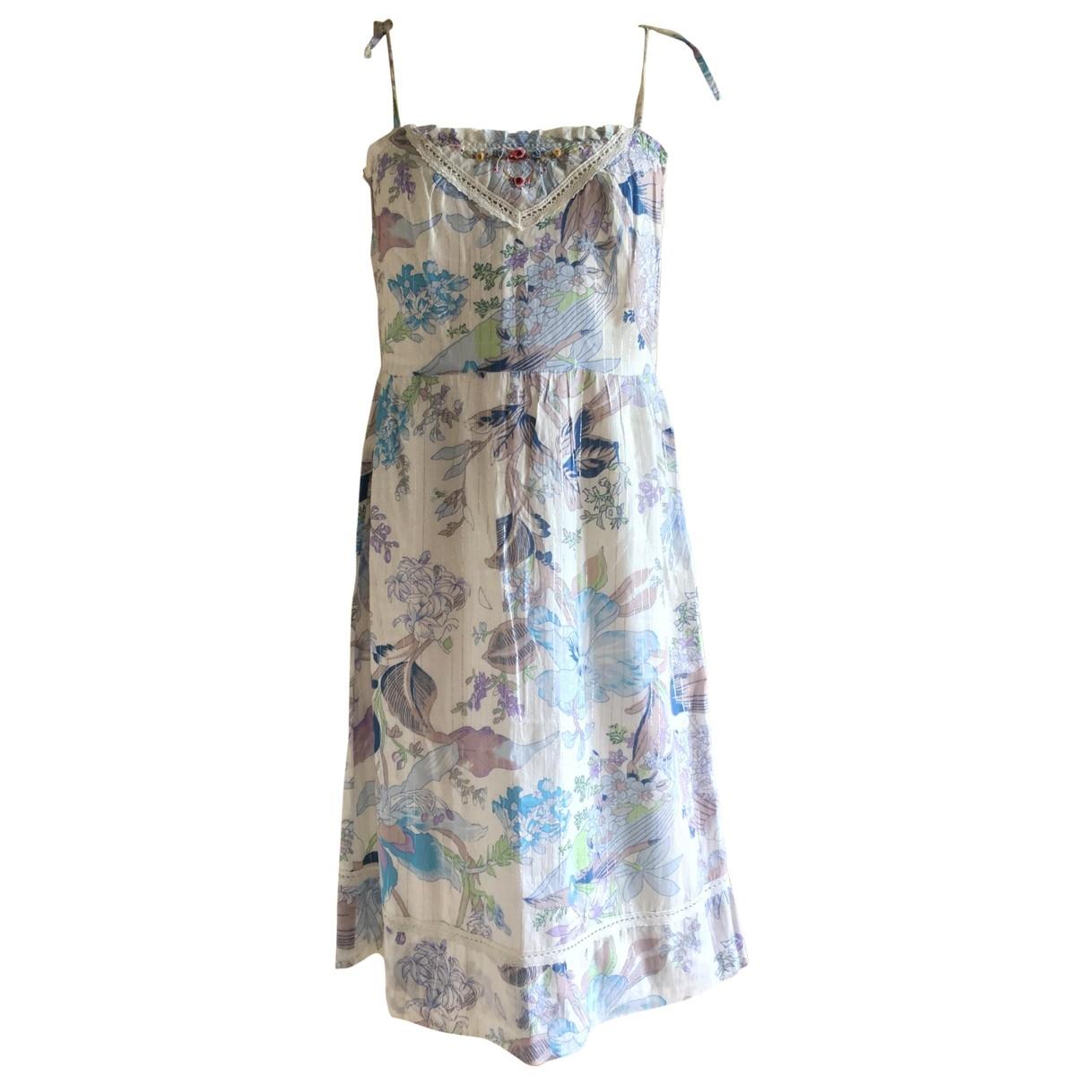 Paul & Joe \N White Cotton dress for Women 38 FR