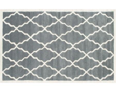 40334D 5 x 8 ft. Pemberly Area Rug  in Gray and