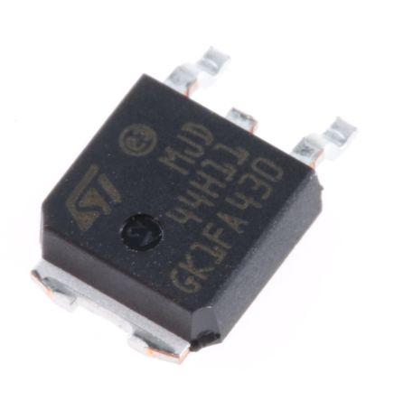 STMicroelectronics MJD44H11T4 NPN Transistor, 8 A, 80 V, 3-Pin DPAK (10)