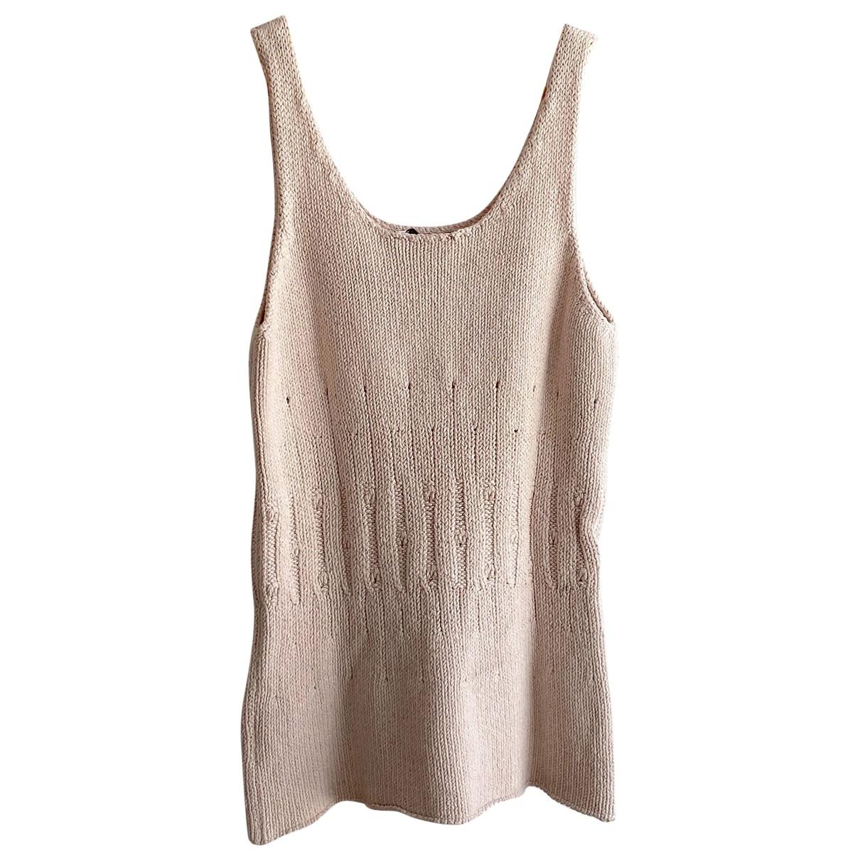 Loewe \N Pink Silk Knitwear for Women S International