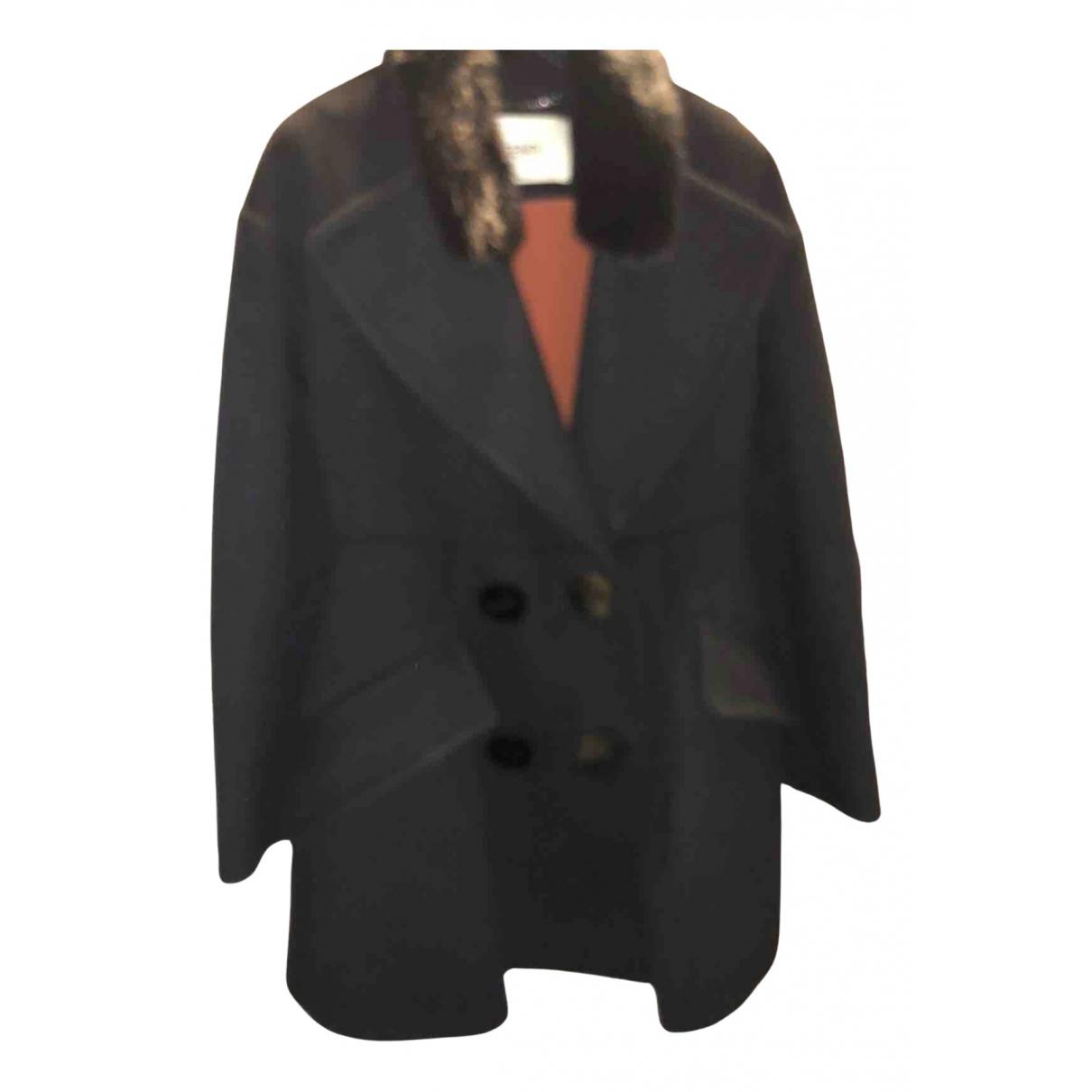 Fendi - Veste   pour femme en laine - noir