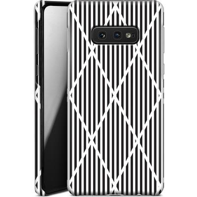 Samsung Galaxy S10e Smartphone Huelle - Black Diamonds von caseable Designs