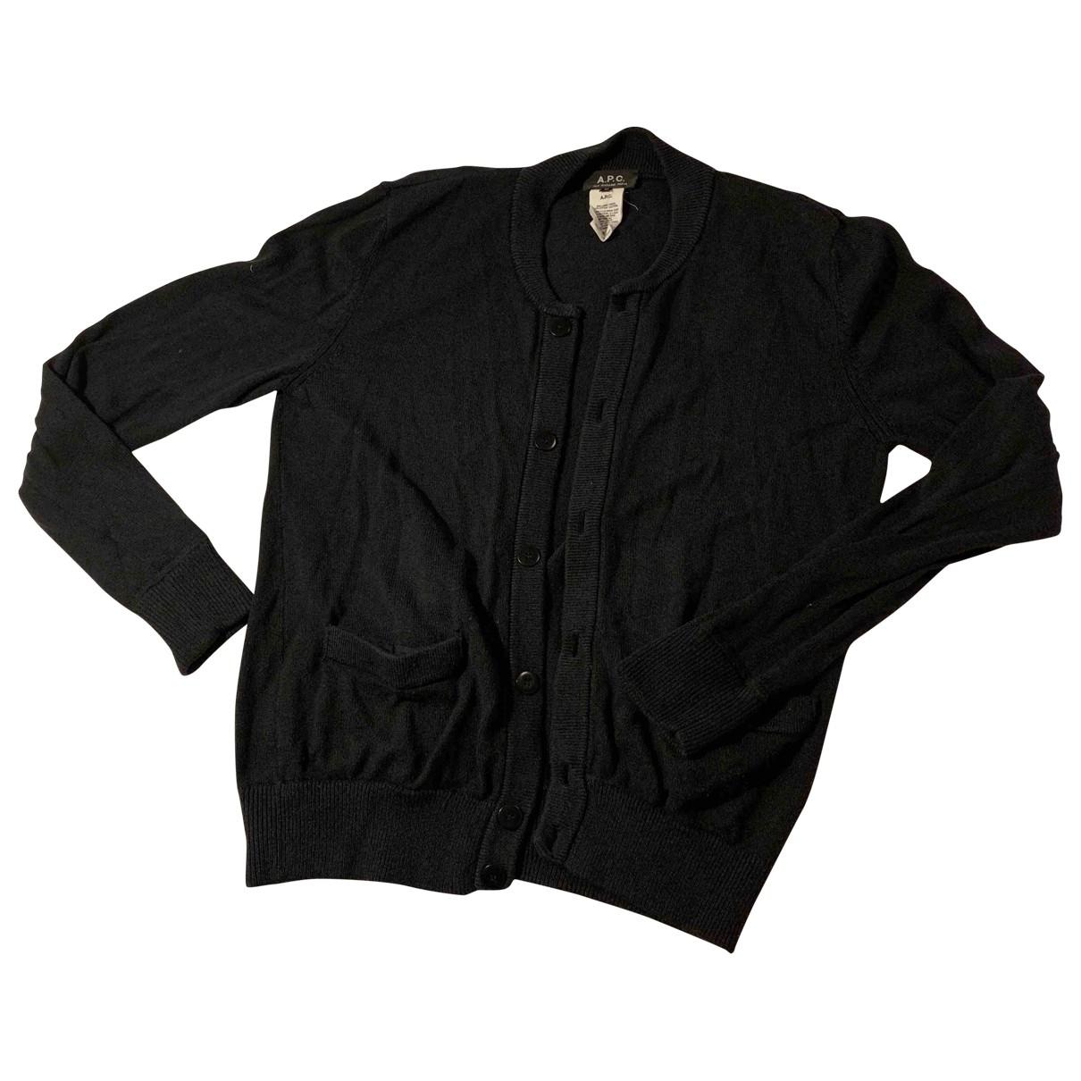 Apc \N Navy Wool Knitwear & Sweatshirts for Men M International