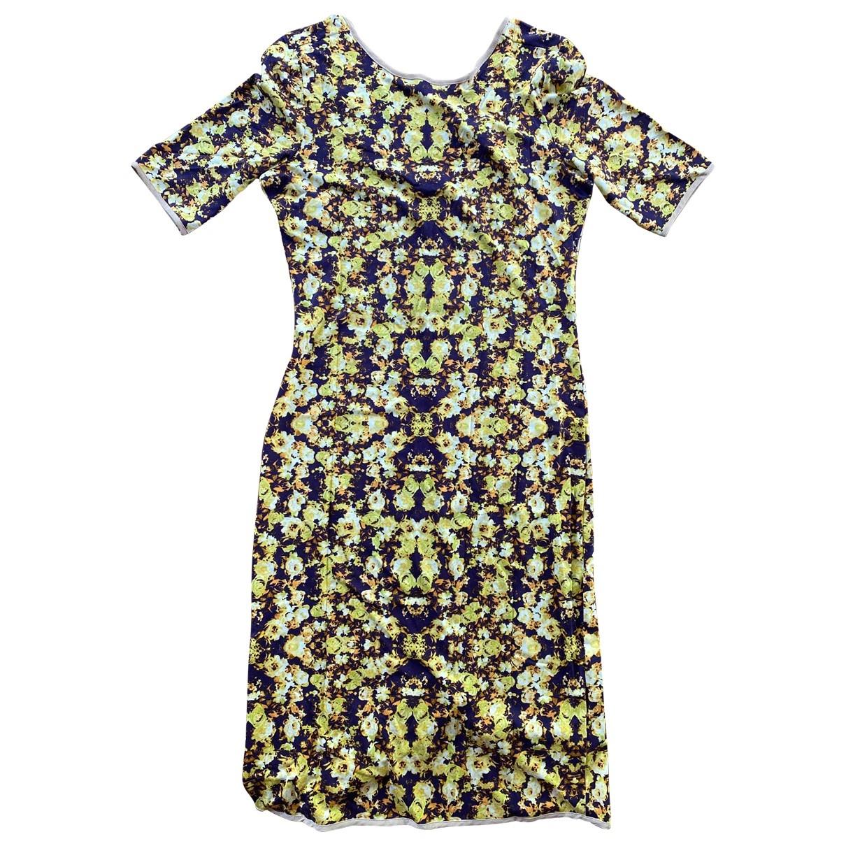 Sam And Lavi \N Kleid in  Bunt Baumwolle - Elasthan