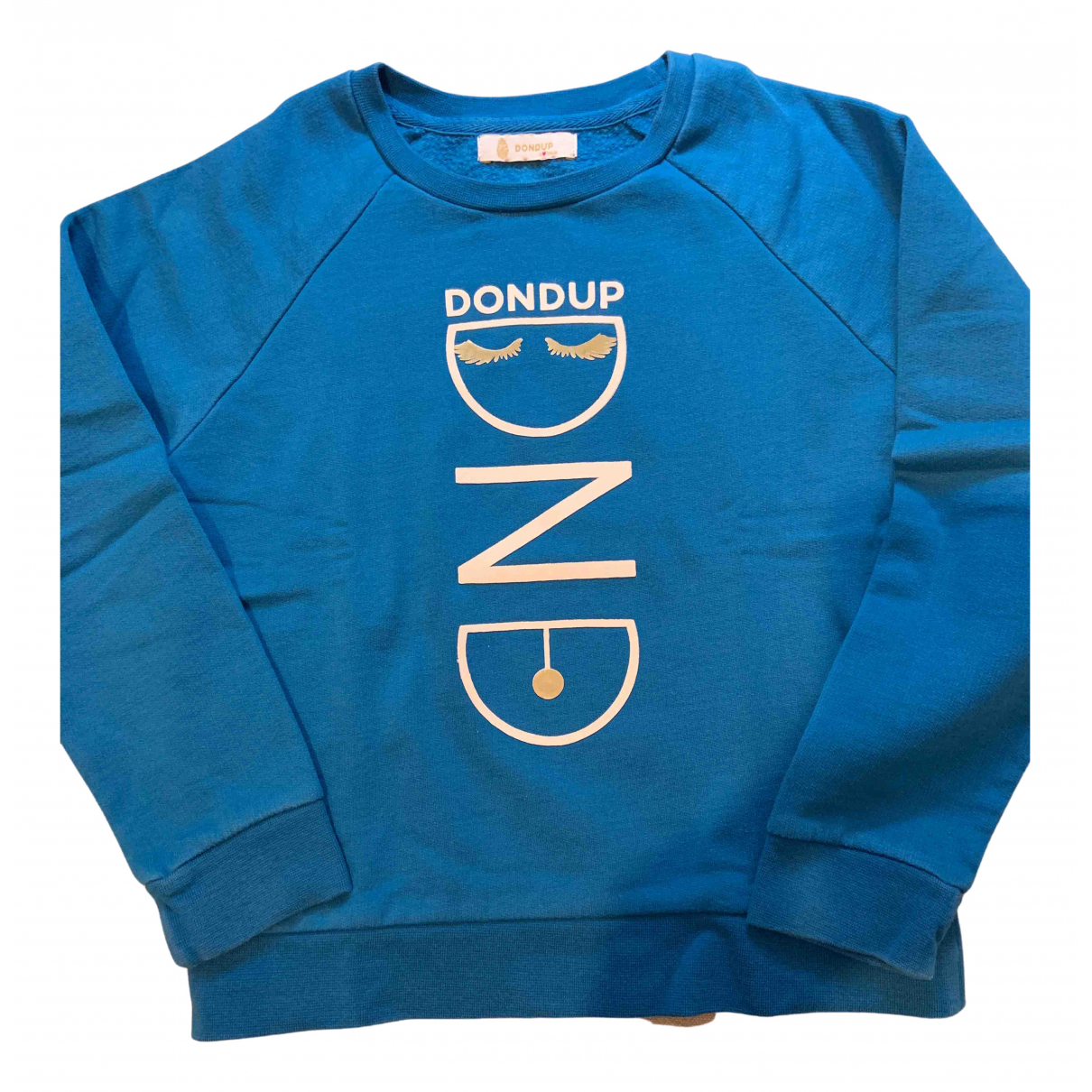Dondup N Blue Cotton Knitwear for Kids 8 years - until 50 inches UK