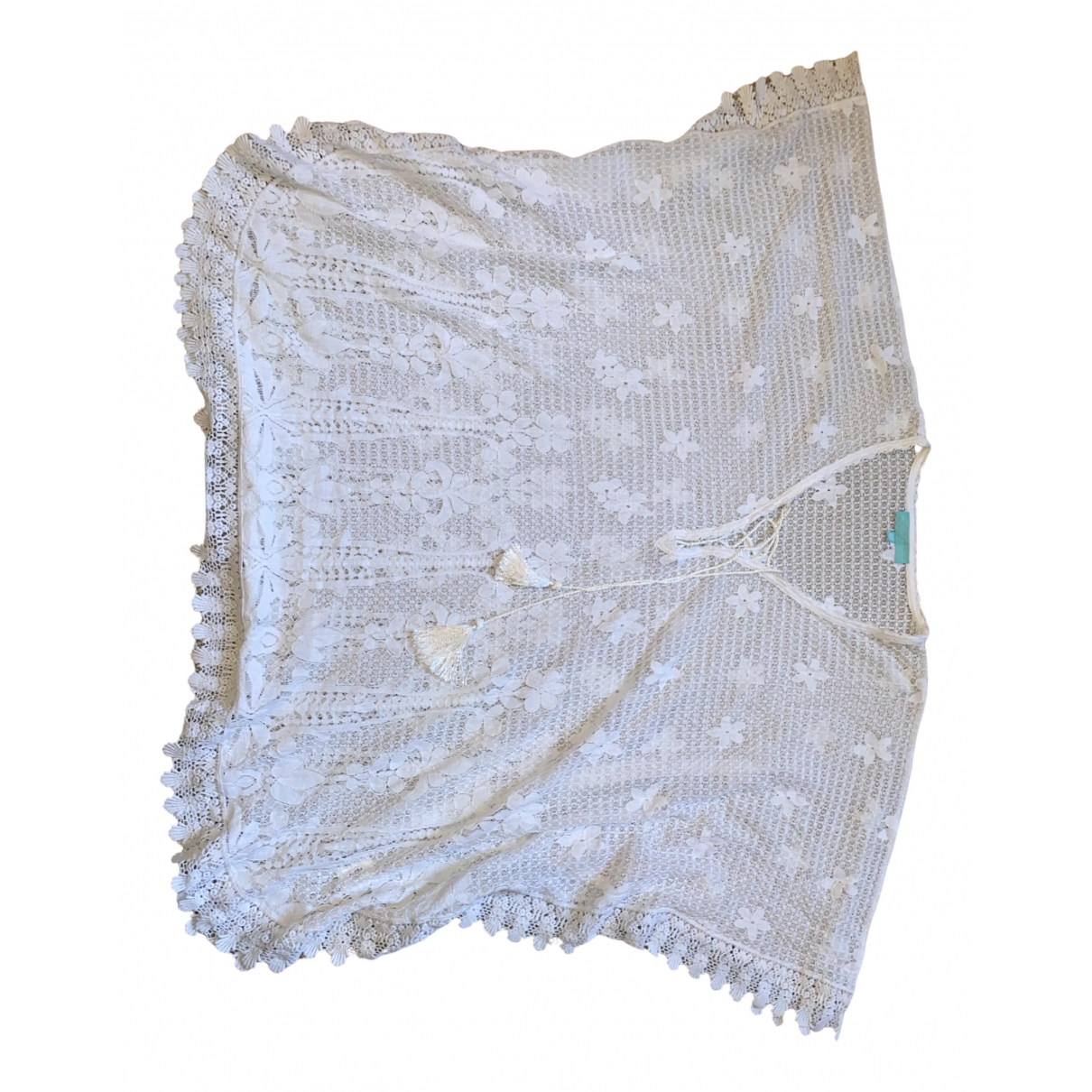 Melissa Odabash \N White Cotton dress for Women One Size International